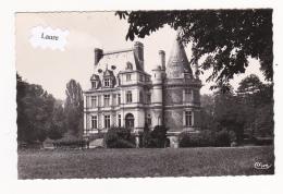 CPSM SERVON : Datée Du 25-4-1954 Château De Villemenon (77-5) 2 Scan - Other Municipalities