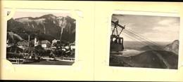493594,Leporello Sammelmappe 12 Fotos Ansichten Ebensee Feuerkogel Seilbahn - Ansichtskarten