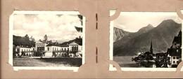 493595,Leporello Sammelmappe 12 Fotos Ansichten Salzkammergut Gmunden Bad Ischl Seilb - Ansichtskarten