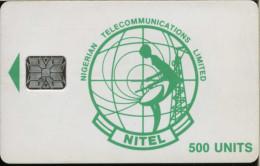 Nigeria - Chip - NITEL - 500u - RR - Nigeria