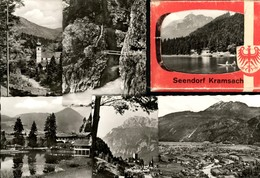 493592,Leporello Sammelmappe 10 Fotos Ansichten Seendorf Kramsach - Ansichtskarten