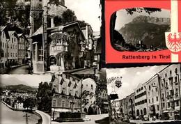 493590,Leporello Sammelmappe 10 Fotos Ansichten Rattenberg I. Tirol - Ansichtskarten