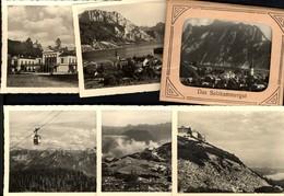 493583,Leporello Sammelmappe 12 Fotos Ansichten Salzkammergut Ebensee Strobl Gmunden - Ansichtskarten