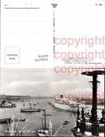 465978,Foto Ak Hochseeschiff Schiffe Dampfer MS Oranje Amsterdam Hafen - Handel