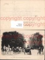 474043,Kutschen Paris Bois De Boulogne Allee Des Acacias - Taxi & Carrozzelle