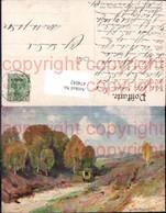 474042,Künstler Ak Meinzolt Postkutsche Kutsche Landschaft - Taxi & Carrozzelle