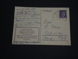 ALLEMAGNE - Entier Postal Patriotique En 1944 De Markirch - A Voir - L 972 - Allemagne