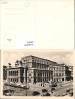 499178,Foto Ak Wien Staatsoper Oper Straßenbahn - Theater