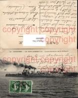 466000,Kriegsschiff Schiff St Nazaire Le Leon Gambetta Croiseur-Cuirasse En Rade De S - Krieg