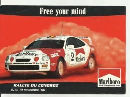 /--RALLYE  DU  CONDROZ   ...8..9..10..Novembre 1996. - Rallyes