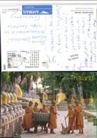 496369,Thailand Temple Young Novices Buddhisten Kinder Typen Besen - Thaïland