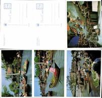 496366,Klappkarte Thailand Bangkok Klong Kanal Mehrbildkarte - Thaïland