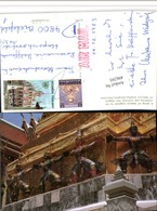 496293,Thailand Bangkok Temple Emerald Budha Group Of Demons Detail - Thaïland