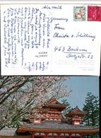 496354,Japan Kyoto Heian Shrine Schrein Tempel Baumblüte - Ohne Zuordnung