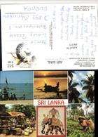496335,Ceylon Sri Lanka Strand Typen Vegetable Mehrbildkarte - Sri Lanka (Ceylon)