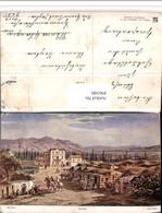 496300,Künstler AK F. Perlberg Palästina Jericho Dorf Typen - Ansichtskarten