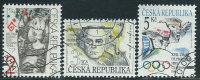 Repubblica Ceca 1994 Usato - Mi.30/1;34  Yv.29/31 - Repubblica Ceca