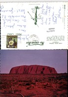496600,Australia Ayers Rock Inselberg - Ohne Zuordnung