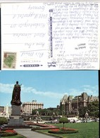 496657,British Columbia Victoria Empress Hotel Monument Statue - Britisch Kolumbien