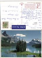 496653,Alberta Jasper Maligne Lake See Bergkulisse - Alberta