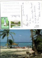 496630,Jamaica Ocho Rios St. Anns Bay Strandleben Strand - Ansichtskarten
