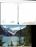 496661,Alberta Lake Louise And Victoria Glacier See Bergkulisse - Ohne Zuordnung