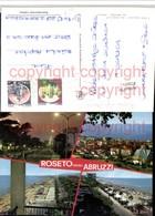 472015,Abruzzo Teramo Roseto Degli Abruzzi Teilansicht Strand Mehrbildkarte - Teramo