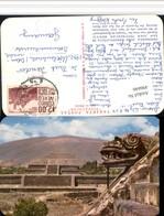496646,Mexico Panoramica Zona Arqueologica De San Juan Teotihuacan Tempel - Mexiko