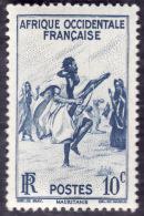 AOF  1947 -  YT  24 - Danse Des Fusils  -- NEUF** - Neufs