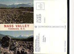 496649,British Columbia Terrace Nass Valley Bergkulisse Mehrbildkarte - Ohne Zuordnung