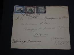 """JORDANIE - Enveloppe De Pèlerins Franciscains Avec Oblitération """"  Jérusalem Citadelle """"  - A Voir - L 986 - Jordan"""