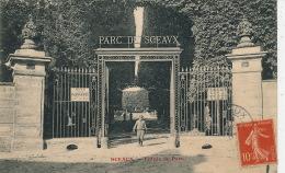 SCEAUX - Entrée Du Parc - Sceaux