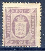 ##K3021. Denmark 1875. Officials. Michel 4YA. RUST!. MH(*) - Officials