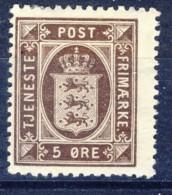 ##K3026. Denmark 1923. Officials. Michel 15. MH(*) - Officials