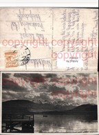 470054,Traunsee B. Gmunden M. Höllengebirge Bergkulisse Pub F.E. Brandt 5284 - Österreich