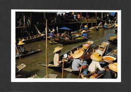 RAJBURI - THAILAND - THAILANDE - DAMNERNSADUAK  FLOATING MARKET - MARCHÉ FLOTTANT - PHOTO BY THAI SILPA - Thailand