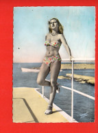 Pin-Ups : Femme (Mode , Maillot De Bain) Nu (oblitérée, écrite, édition Mar) - Pin-Ups
