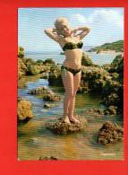 Pin-Ups : Femme (Mode , Maillot De Bain) Nu (non écrite, édition Sapromos)N°4021 Jolie Baigneuse - Pin-Ups