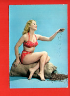 Pin-Ups : Femme (Mode , Maillot De Bain) Nu (non écrite, édition Cecami) - Pin-Ups