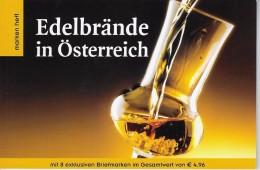Edelbrande Boekje Met 8 Zegels - Autriche
