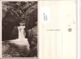 493917,Luxembourg Hallerbach Wasserfall Schlucht - Ansichtskarten
