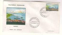 FDC Polynésie 01 12 1964 Papeete. - FDC