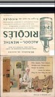 521007,Reklame Künstler AK H. Gerbault Alcool De Menthe Ricqles Alkohol - Werbepostkarten
