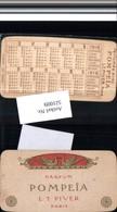 521009,Reklame Beleg Pompeia Pompei Parfum Piver Paris Kalender 1916 - Werbepostkarten