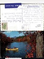 496671,British Columbia Quesnel Canoeing On An Autumn Day See - Britisch Kolumbien