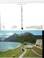 496666,Alberta Chateau Lake Louise Pool See Bergkulisse - Alberta