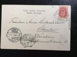 RUSSIA   FINLAND     OCCUPATION  1903.  HELSINKI - Briefe U. Dokumente