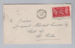 GB Jersey 1951-05-21 Jersey Brief Nach St Helier - Jersey