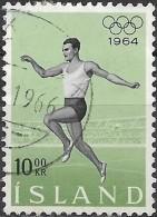 ICELAND 1964 Olympic Games, Tokyo - 10k Running  FU - Oblitérés