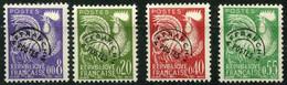 France Préos (1960) N 119 à 122 ** (Luxe) - 1953-1960